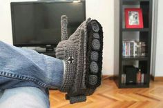 Tanks for the slippers!