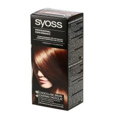 Syoss Hair Cream 4-8 Chocolate Brown - http://www.transfashions.com/en/beauty-health/hair-care/hair-colors/syoss/syoss-hair-cream-4-8-chocolate-brown.html Syoss #Haircream 4-8 Chocolate Brown gives a perfect natural deep-black color full of shine. SYOSS The high quality formula seals the professional color pigment mix deep in the...