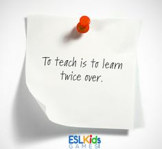 revision activities for the classroom - to teach is to learn twice over