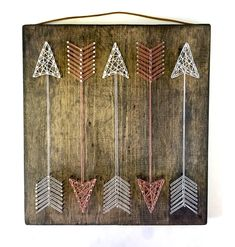 Full Quiver Arrow String Art by ThreadTherapy1 on Etsy