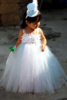 pinterest wedding flower girl | Wedding Ideas / Ice Princess Flower Girl from Etsy #weddings