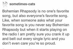 Except me, because it is definitely my favorite song through and through
