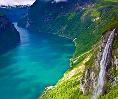 World's Most Beautiful Ferry Rides: Norway: Through the fjords between Geirangerfjord and Valldal