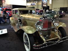 Duesenberg. Taken at the Barrett Jackson Auto Auction Sept. 2012.