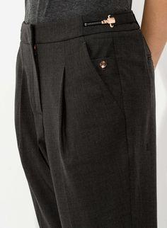 Women's Adjustable Waist Pants   Claren Trouser