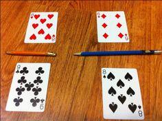 Fraction War Card Game | Math File Folder Games