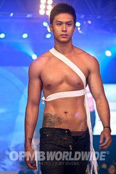 Cute, hot, sexy, and handsome pinoy hunk Jiro Shirakawa at the 2010 Cosmo Bachelor Bash. ;)