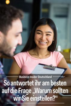 Application: You should never answer this question without thinking. Article: BI Germany Photo: Shutterstock / BI Best Picture For career icon For Your Taste You are looking for something, and it is g Neuer Job, Job Interview Tips, Life Hacks, Junior Year, Go Getter, Career Coach, Get The Job, Job Search, Good Job