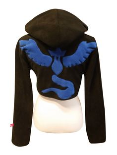 Pokemon GO team Mystic Articuno inspired hoodie by PretzlCosplay
