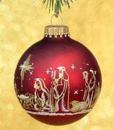 Religious Ornaments - Religious Christmas Decorations