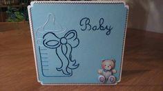 Geboorte kaart jongentje