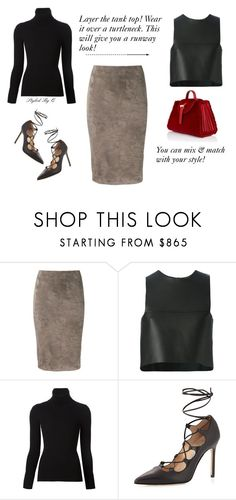 """""""Mix Your Style Up!"""" by quintan ❤ liked on Polyvore featuring Brunello Cucinelli, Fendi, Emanuel Ungaro, Manolo Blahnik, Meli Melo, women's clothing, women's fashion, women, female and woman"""