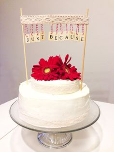 Bake it: Just Because Cake | Chicks Who Give A Hoot