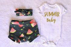 Summer outfit Baby girl Watermelon baby girl clothes Coming home outfit summer Baby girl outf Baby Girl Dresses baby clothes Coming girl Home outf outfit Summer Watermelon Baby Outfits, Newborn Girl Outfits, Girls Summer Outfits, Baby Girl Newborn, Outfit Summer, Baby Baby, Pregnancy Outfits, Cute Baby Clothes, Baby Girl Clothes Summer