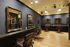 Beauty salon interior design ideas   + chairs + mirrors + space + decor + Japan + designs + white   Follow us on https://www.facebook.com/TracksGroup <<<【hikute セットエリア】 美容室 内装