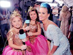 Sophia Grace, Rosie & Katy Perry ;)