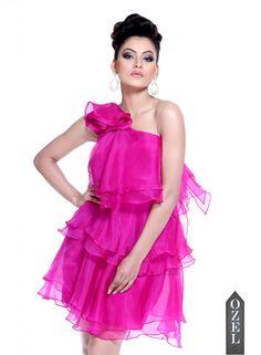 Layered Dresss by MARCHESA
