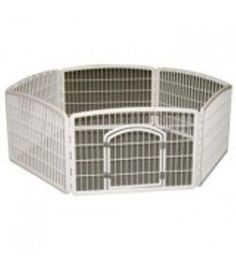 IRIS Plastic 6-Panel Pet Pen, White -- Special dog product just for you. See it now! : Dog cages