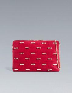 CLUTCH WITH BOWS - Handbags - TRF - ZARA Croatia (Hrvatska)