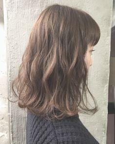 Medium Hair Cuts, Medium Hair Styles, Long Hair Styles, Cute Medium Haircuts, Easy Hairstyles, Wedding Hairstyles, Shot Hair Styles, Bob With Bangs, Hair Setting