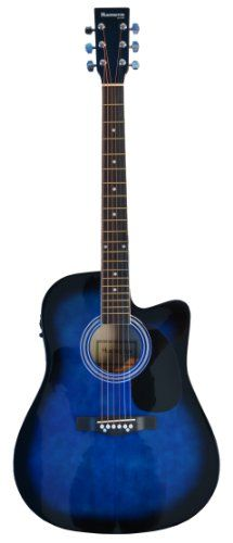 Guitars & Basses Acoustic Electric Guitars Transparent Blue Burst High Quality Goods Diplomatic Ibanez Pf 15ece Acoustic/electric Guitar