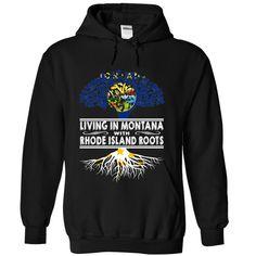 Living in Montana with Rhode Island Roots bykinxkkfd T-Shirts, Hoodies. CHECK PRICE ==► https://www.sunfrog.com/States/Living-in-Montana-with-Rhode-Island-Roots-bykinxkkfd-Black-Hoodie.html?id=41382
