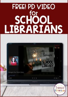 Are you a school librarian striving to make your library the center of your school? I've got 5 areas for you to consider as you work hard to meet the needs of your students, teachers, and families. This free short professional development video will help school librarians with helpful tips for reimagining and energizing their library programs. Library Signs, Library Programs, Elementary School Library, Elementary Schools, Reading Motivation, Library Organization, Library Events, Parent Communication, School Librarian