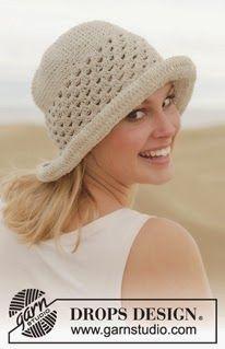 Sombrero de Mujer Para Verano a Ganchillo Paso a Paso  9909e4b7a96