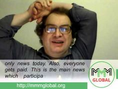 MMM Global, weekly news from Sergey Mavrodi  (2015.09.27)