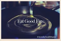 One of the most confusing topics in my practice as a Holistic Nutritionist  is the Great Fat Debate. What is a good fat? What isn't as good a fat?  Which ones should we nix from our kitchen pantry? In this next in the  series of #mondayhealthbasics, let's take a gander at this hotly debated  topic, albeit in a bit simpler form. #mondayhealthbasics #eatgoodfats