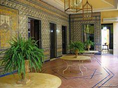 Exploreseville.com: IMG_3408 | 1 - Palacio de Lebrija. A more typical Andalusian style as we enter towards the patio.