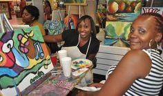 Creative Art Connection is located in Decatur, Georgia twenty minutes from downtown Atlanta. http://www.creative-art-connection.us