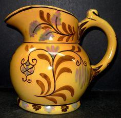Egersund Norge Ceramic Painted Floral Pitcher Jug | eBay