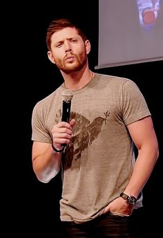 "Jensen ""I was doing The Blue Steel"" Ackles (JIB6)"