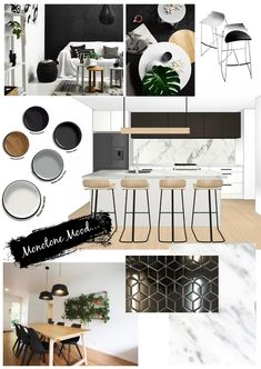 interior design mood board examples in writing