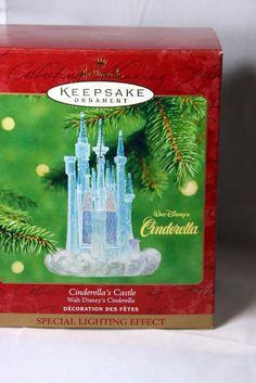 Hallmark Ornament Cinderellas Castle 2001 NIB