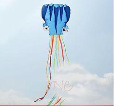Red Dolphin Frameless Soft Parafoil Kite für Kinder Erwachsene Park Beach
