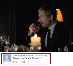 The real reason Sherlock comes back.