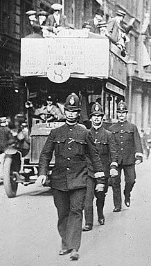 30 August London policemen go on strike for increased pay and union recognition Conscientious Objector, My Ancestors, Magic Circle, You Never Know, To Go, 30 August, History, Pirates, 30th