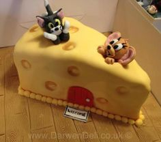 Tom & Jerry Cheese Cake - Darwen Deli Cakes