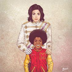 Michael Jackson - ME & MY OTHER ME -Fulvio Obregon Like and Repin. Thx Noelito Flow. http://www.instagram.com/noelitoflow