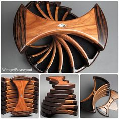 Rotating Jewelry Box with Secret Compartments Functional