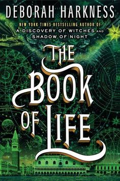 Cover Reveal: The Book of Life (All Souls Trilogy #3) by Deborah Harkness -On sale July 15th 2014 by Viking Adult -The highly anticipated finale to the #1 New York Times bestselling trilogy that began with A Discovery of Witches