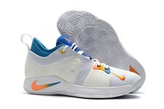 111f5e53bcb8 2018 Nike PG 2 Paul George White Orange Blue New Nike Air