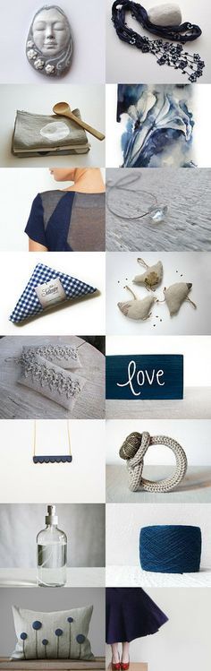 It's a classic combination by Anna on Etsy--Pinned with TreasuryPin.com