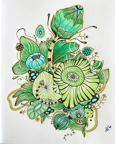 Yellena James, Coloring Books, Coloring Tips, Colouring, Zentangle Patterns, Zentangles, Geometric Graphic, Colored Pencil Techniques, Organic Art