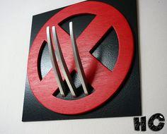 Superhéroe Wolverine arte de la pared arte de pared de
