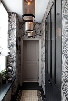 144 meilleures images du tableau Papier peint • Couloir en 2019 ...