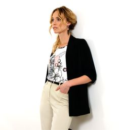 Pause Café, Pret A Porter Feminin, Catalogue, Blazer, Jackets, Women, Fashion, Spring Summer, Ongles