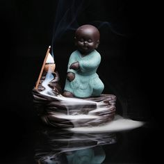 The Little Monk Buddha Burner Backflow